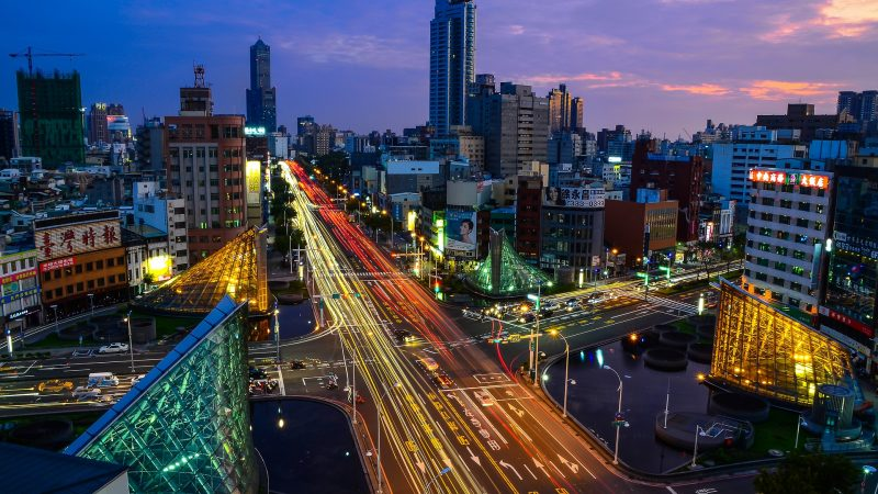Taipei Urban Landscape. Image by tingyaoh from Pixabay